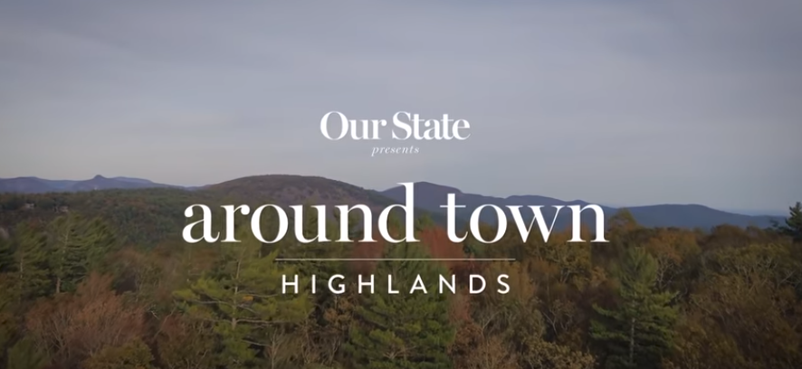 "Chris and Hilary take ""Our State"" around Highlands"